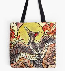 Last Resurrection of the Lord God Bird Tote Bag