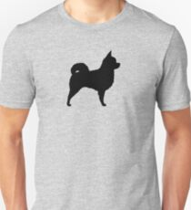 Long Haired Chihuahua Silhouette(s) T-Shirt