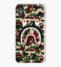 green shark iPhone Case