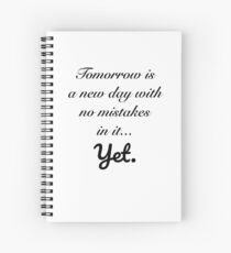 Anne of Green Gables—Tomorrow Is a New Day Spiral Notebook