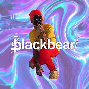 Blackbear Holo Deisgn by emathechickenlo