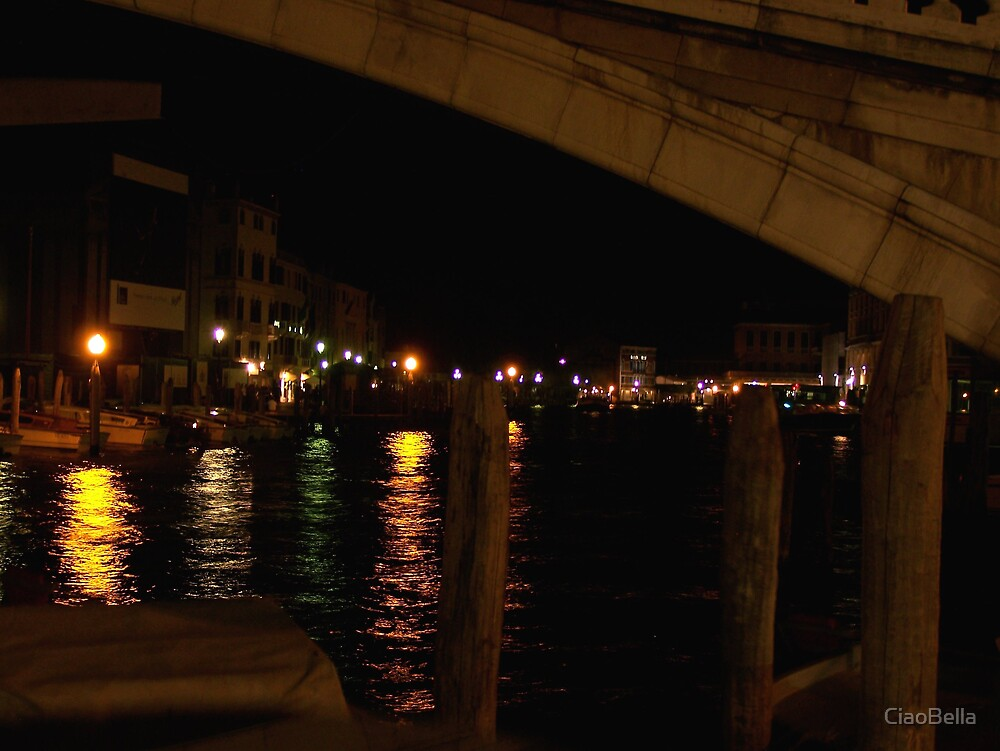 Waiting for a night boat by CiaoBella