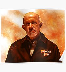 Breaking Bad - Mike Ehrmantraut Poster