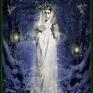 Yule Goddess by Angie Latham