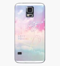 Love Yourself Her Pastel Clouds BTS Bangtan Kpop Merch Case/Skin for Samsung Galaxy