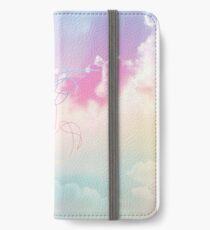 Love Yourself Her Pastel Clouds BTS Bangtan Kpop Merch iPhone Wallet/Case/Skin