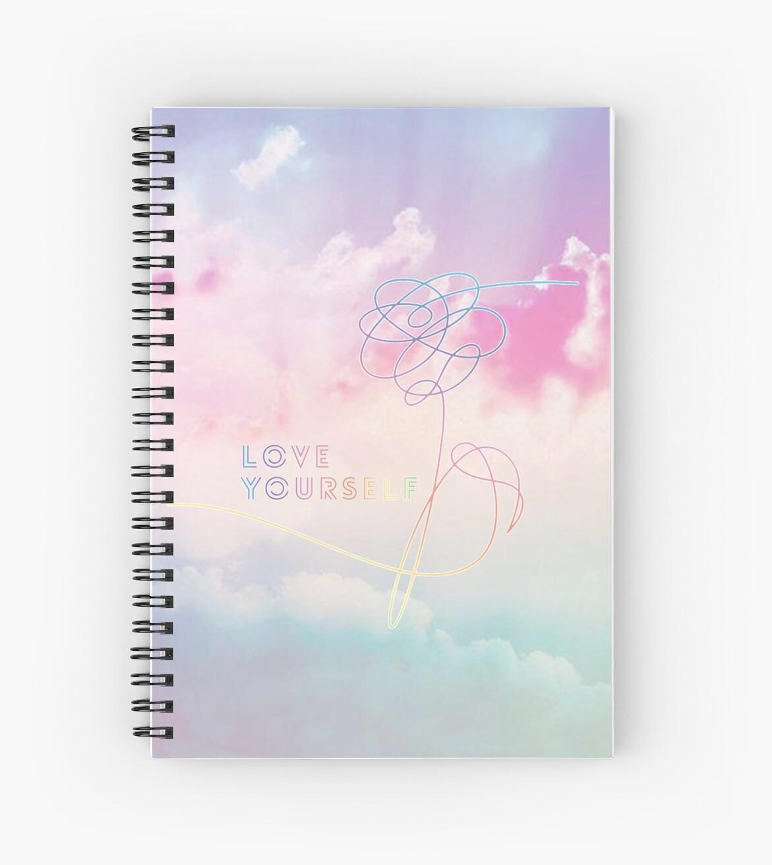 Lieben Sie sich ihre Pastellwolken BTS Bangtan Kpop Merch von HelloDigitals