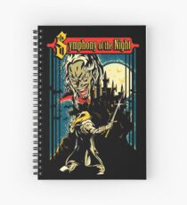 symphony of the night Spiral Notebook