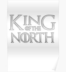 Tom Brady King Of The North Poster