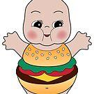 Chubby Burger Kewpie by Natalie Perkins