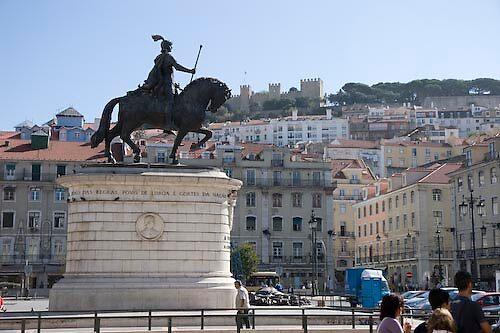 Lisbon square, Portugal by chord0
