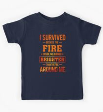 Fire Survivor Kids Tee