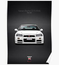 Nissan Skyline GT-R (R34) Poster