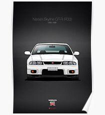 Nissan Skyline GT-R (R33) Poster