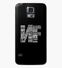 NF - Word Collaboration Design  Case/Skin for Samsung Galaxy