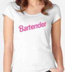 Bartender Women's Fitted Scoop T-Shirt