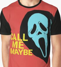 SCREAM GHOSTFACE CARLY RAE JEPSEN Graphic T-Shirt