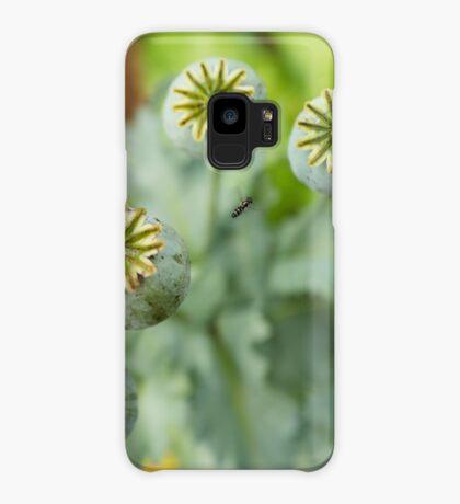 Patterns in Poppy Pods Case/Skin for Samsung Galaxy