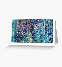 Abstract composition 592 Greeting Card