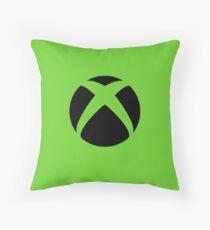 Xbox Green Throw Pillow