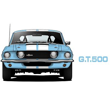 1967 Ford Mustang Shelby GT500 by m-arts