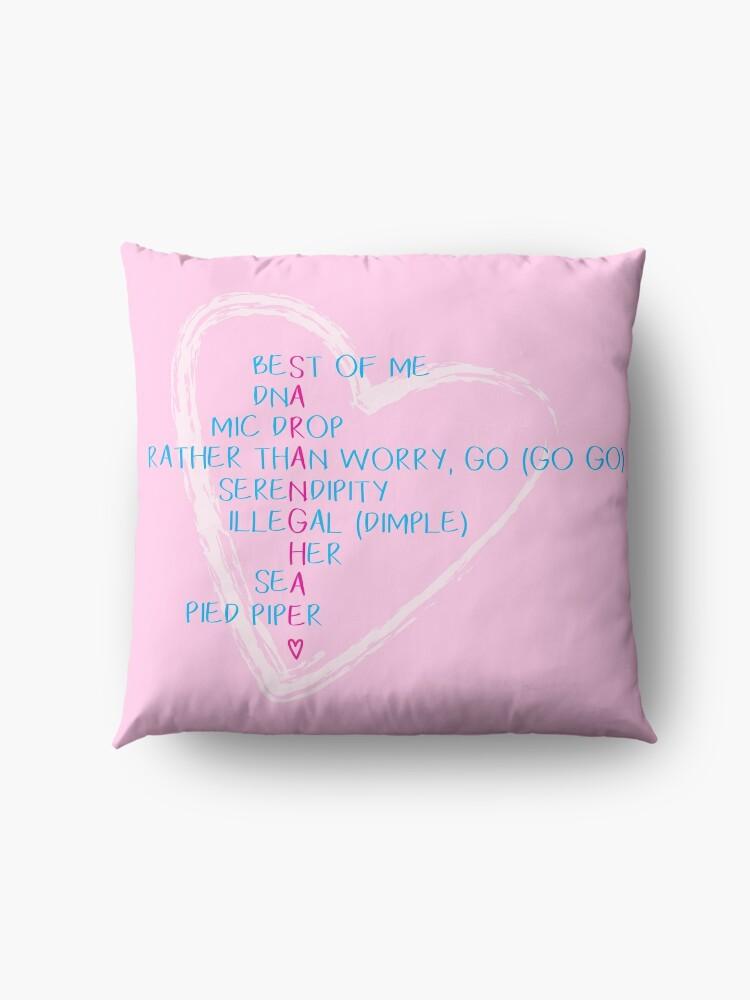 Bts love yourself saranghae floor pillows by jinsdadjokes redbubble bts love yourself saranghae by jinsdadjokes solutioingenieria Images