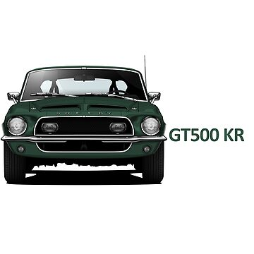 1968 Ford Mustang Shelby GT500 KR by m-arts