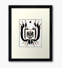 Prussia Coat of Arms Framed Print