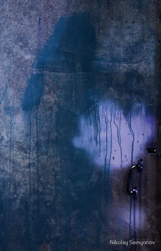 Blue Door by Nikolay Semyonov