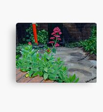 Beautiful Pink Colored Flower Not A Weed Canvas Print