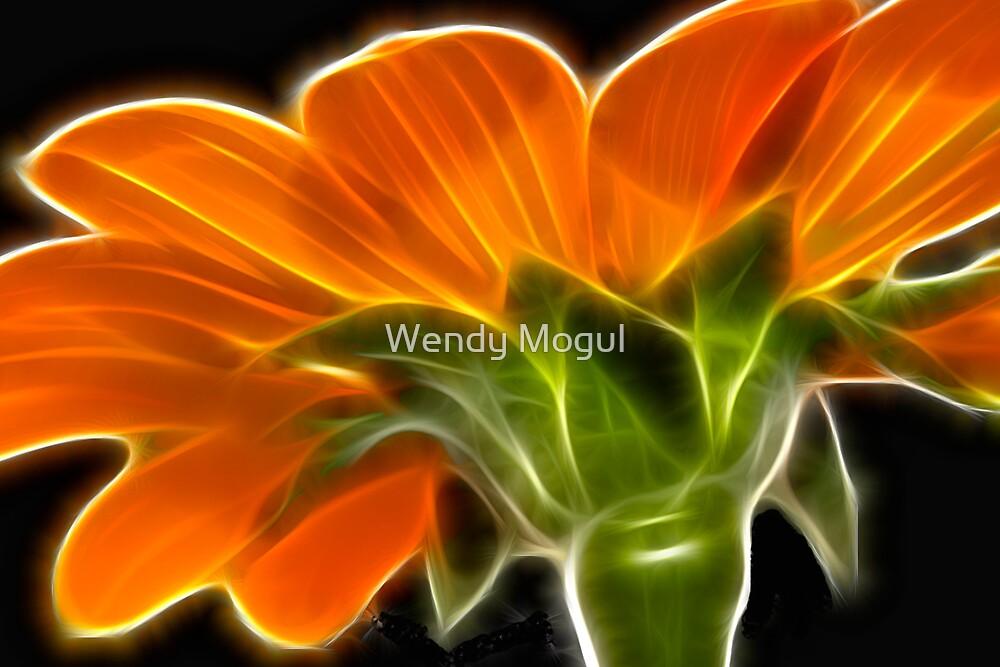 Gerbera Fractual by Wendy Mogul