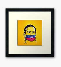Falcao Colombia Framed Print