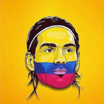 Falcao Colombia by danbrobro
