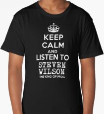 Keep calm and listen to Steven Wilson Long T-Shirt