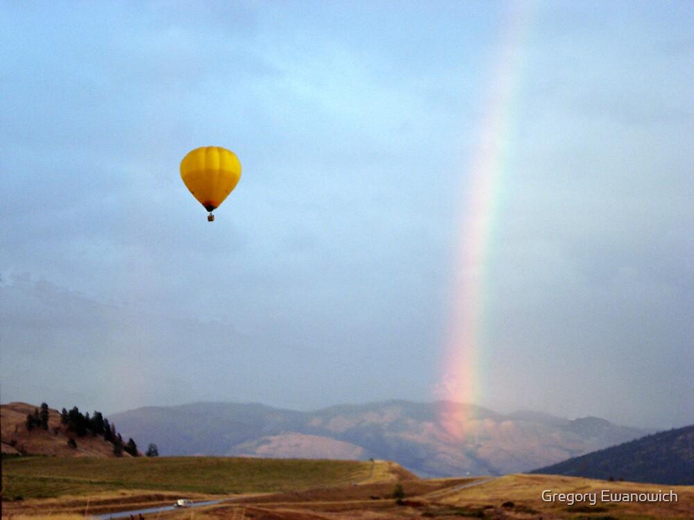 Rainbow Flyover by Gregory Ewanowich