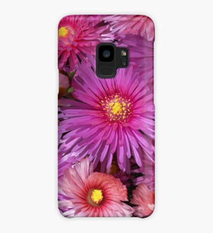 Beautiful Pink Pigface Flowers Case/Skin for Samsung Galaxy