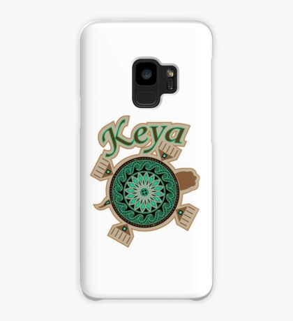 Green Turtle Keya Case/Skin for Samsung Galaxy