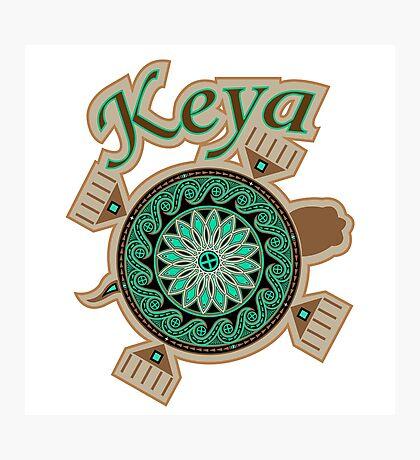 Green Turtle Keya Photographic Print