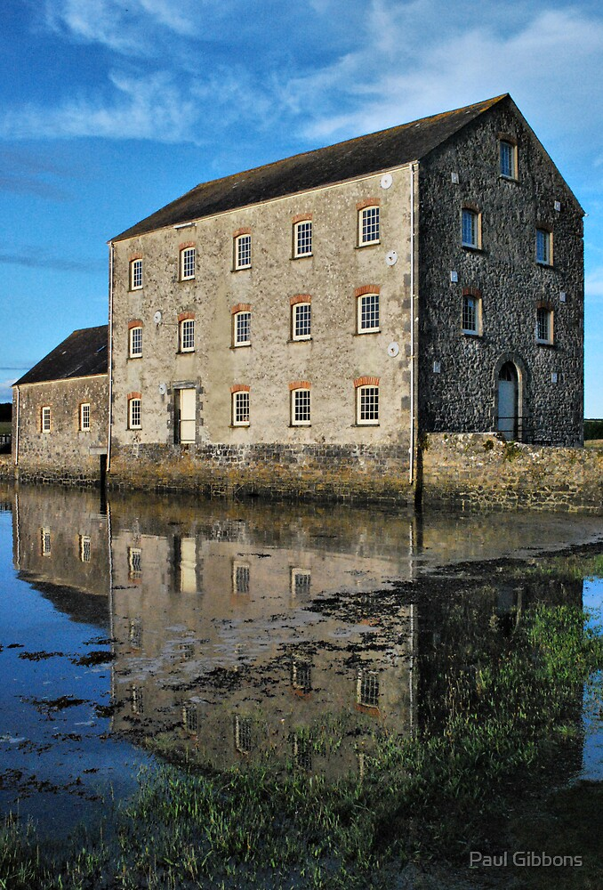 Carew Tidal Mill by Paul Gibbons