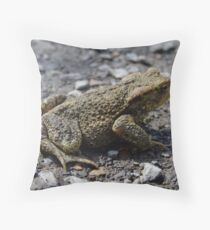 Warts & All Throw Pillow