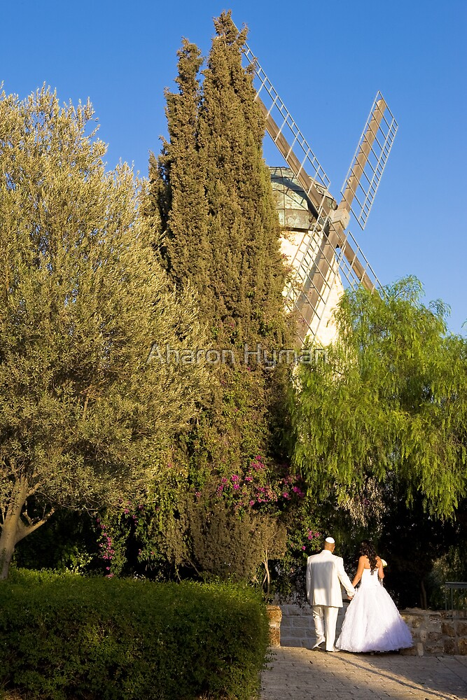 montefiore windmill by Aharon Hyman