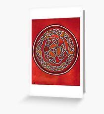 Meditation Wheel Greeting Card