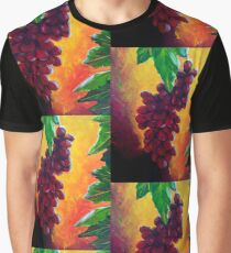 Taste of Grapes Graphic T-Shirt