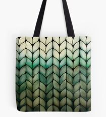 Olive Grove Knit Tote Bag
