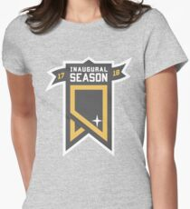 Vegas Golden Knights Inaugural Season Patch Women s Fitted T-Shirt 0314e47a80