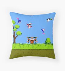 Hunting Ducks Throw Pillow