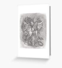 tattoo slave Greeting Card