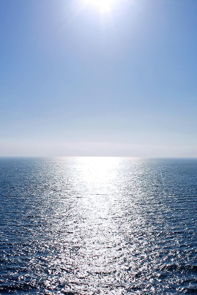 Shining Blue Sea by Tim craftmyphoto Farrell