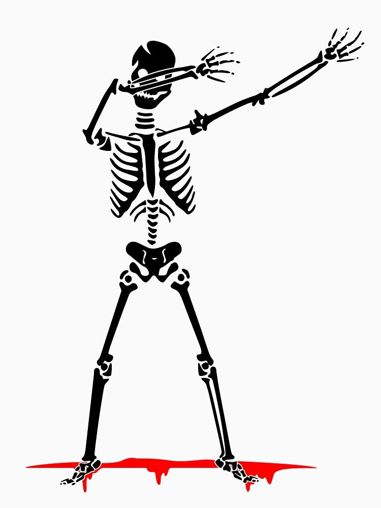 Halloween Dabbing Skelton Dab by bestdesign4u