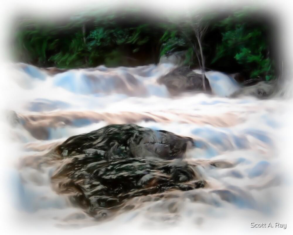 Waterfall by Scott A. Ray